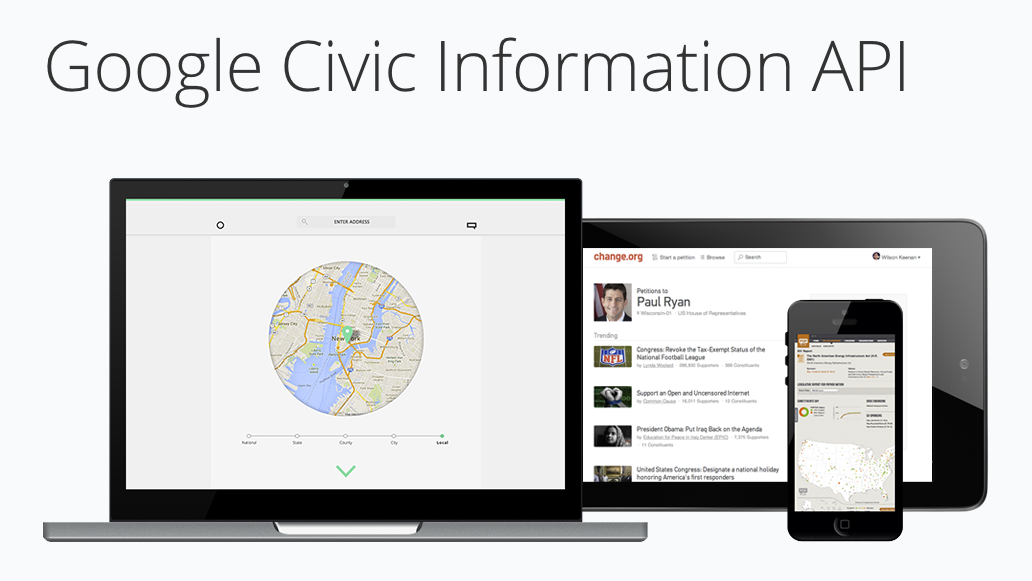 Google Civic Information API