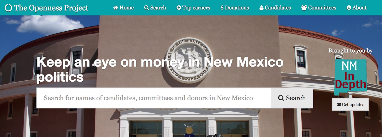 Following the money in New Mexico politics just got a whole lot easier